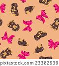 臘腸犬 彩帶 緞帶 23382939
