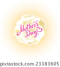 Happy Mothers Day Beautiful Blooming whire Rose 23383605