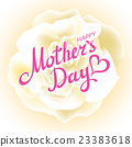 Happy Mothers Day Beautiful Blooming whire Rose 23383618