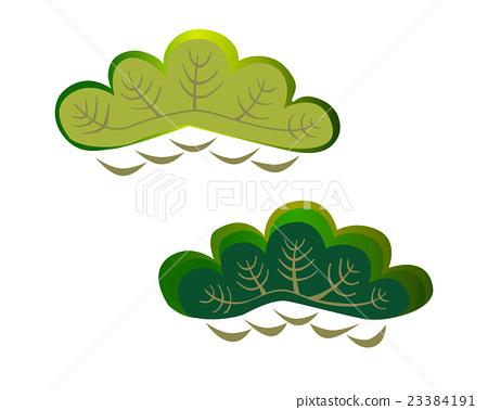 松樹圖案 23384191