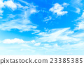 clouds in the blue sky 23385385