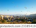 balloons flying over the cappadocia 23385419