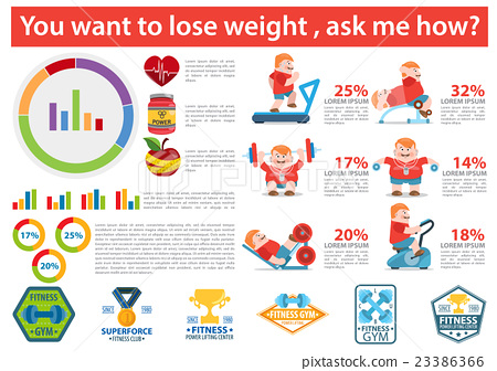 Weight loss infographic 23386366