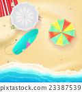 Summer travel background. 23387539