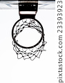 Old basketball hoop 23393923