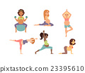vector, pregnant, yoga 23395610