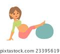 vector, pregnant, woman 23395619