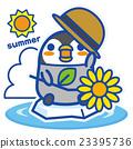 企鵝 夏天 夏 23395736
