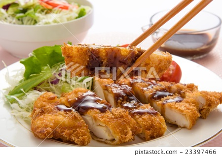 Chicken cutlet 23397466