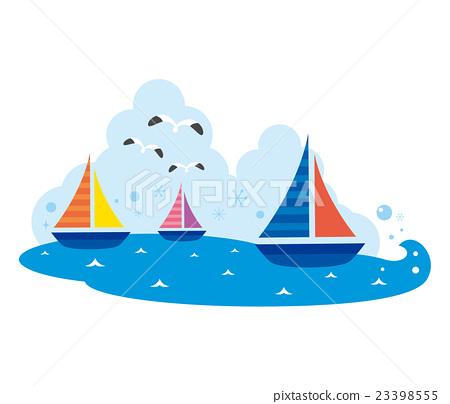 遊艇 水手 帆船 23398555