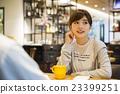 여성, 카페, 인물 23399251