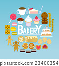 illustration bakery bread 23400354