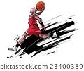 插图 篮球 草图 23400389