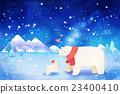 冬 動物 冬天 23400410