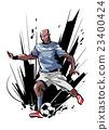 男性 足球 男人 23400424