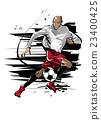 男性 足球 男人 23400425