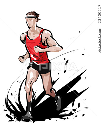 man, marathon, race 23400517