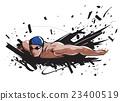 游泳 人 男人 23400519