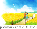 couple, date, flower 23401123