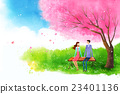 插圖 春 長凳 23401136