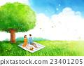 夫婦 野餐 棗 23401205