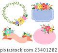 裝飾 花朵 花 23401282