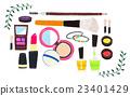 化妝品 插圖 美女 23401429