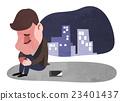 商人 压力 手机 23401437