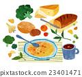 烹飪 湯 食品 23401471