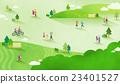 草地 景色 人 23401527