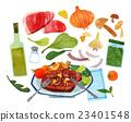 蔬菜 烹饪 食物 23401548