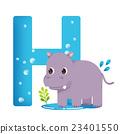 插圖 字母 動物 23401550