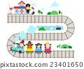 插圖 火車站 火車 23401650