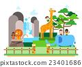 动物园 插图 动物 23401686