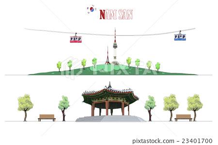 illustration, background, building 23401700