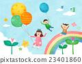 兒童 嫩芽 萌芽 23401860