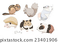 动物 老鼠 线条 23401906