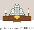 哀悼 插圖 蠟燭 23401913