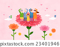 康乃馨 花卉 花 23401946