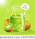 水果 奇異果 果汁 23401956