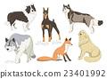 插圖 動物 狗 23401992