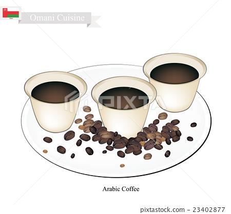 Traditional Arabic Coffee, Popular Dink in Oman 23402877