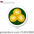 Bibingka or Kiribati Rice Cakes with Cheese 23402888