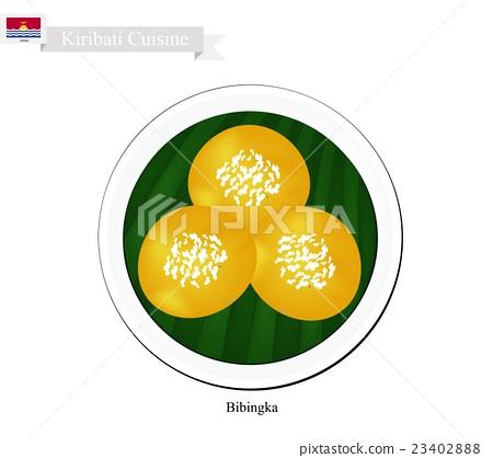 Bibingka or Kiribati Rice Cakes with Cheese 23402888