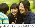 父母和小孩 親子 家庭 23404222
