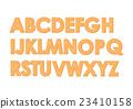 字母 矢量 字体 23410158