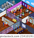 Development Office Isometric Design Concept 23410191
