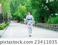 유카타 젊은 여성 23411035