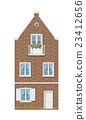 traditional Dutch town house 23412656