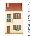 traditional european town house 23412657